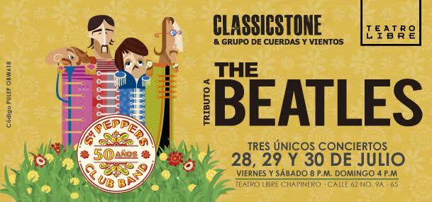 TRIBUTO A THE BEATLES - CLASSICSTONE