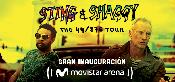 STING & SHAGGY THE 44/876 TOUR